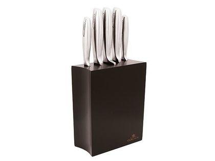 Lumarko MODERN Kpl.5szt noży kuchennych w bloku czarnym 993M