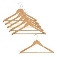 Wieszak na ubrania LESS 4 sztuk komplet szafa ubrania fra