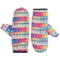 Rękawiczki Damskie Fullprint Winter Rainbow