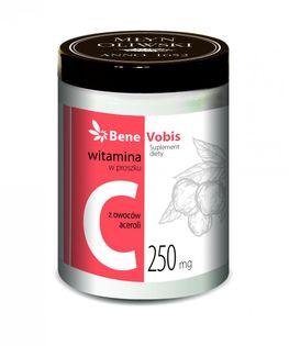 Witamina C w 100% z owoców aceroli 500 g - Młyn Oliwski