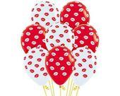 Balony Sempertex Całusy 12'' 50 szt Mix