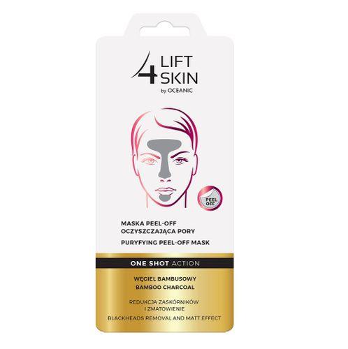 Lift4Skin One Shot Action Maska Peel-Off Oczyszczająca Pory Węgiel Bambusowy 8Ml na Arena.pl