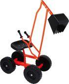 Koparka jeździk do zabawy dla dzieci na kółkach