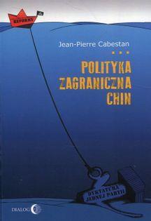 Polityka zagraniczna Chin Cabestan Jean-Pierre