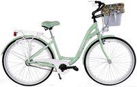 Kozbike Rower miejski 28 damski damka 3biegi ALUMINIUM 10-05 +kosz