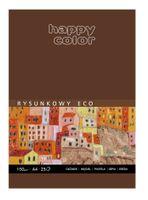 Blok rysunkowy A4 HAPPY COLOR Eco 150g 25 kartek