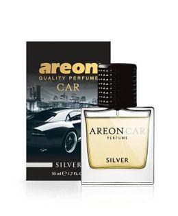 Areon PERFUME 50ML Silver PERFUMY DO SAMOCHODU