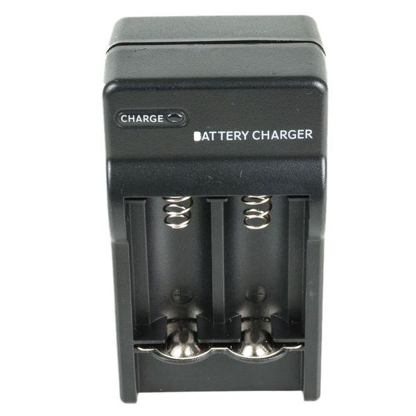 Ładowarka cr123a 3v RCR na 2 baterie akumulatorki czarna nowa 3,7v zdjęcie 5