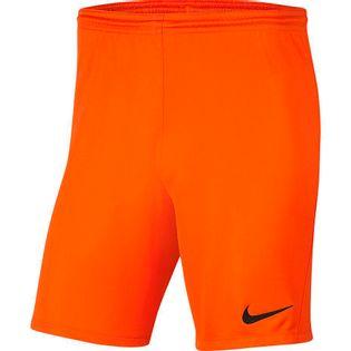 Spodenki dla dzieci Nike Dry Park III NB K pomarańczowe BV6865 819