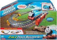 Fisher Price Tomek i Przyjaciele Zestaw Budowniczego Torów 2w1 Track Master