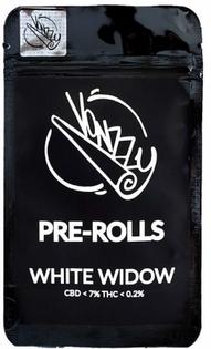 Joint CBD Vonzzy pre-rolls White Widow 2 szt