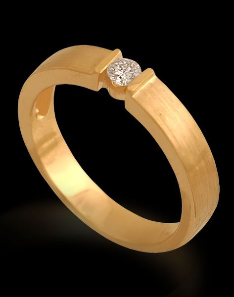 pierścionekzłoty z brylantem rozmiar 15 zdjęcie 2