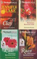 Harlequin Special Rodzina Benedictów Zestaw 4 książek Kane, Luke, Roan, Clay Jennifer Blake