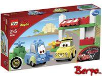 LEGO 5818 Duplo Cars 2 - Luigi i jego włoski dom