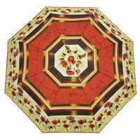 Automatyczna parasolka damska, czerwone maki