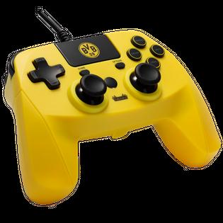 Gamepad snakebyte BVB PS4 Pro kontroler przewodowy licencja BVB