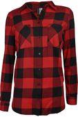 H&M Koszula Czerwono-Czarna Krata Oversize - 38 / M