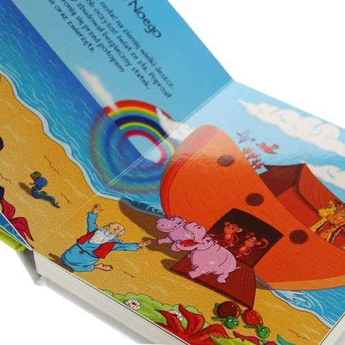 OBSERWUJ Biblia malucha PREZENT dla dziecka Chrzest GRAWER zdjęcie 4