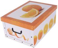 Pudełko Kartonowe Maxi Owoce Pomarańcza