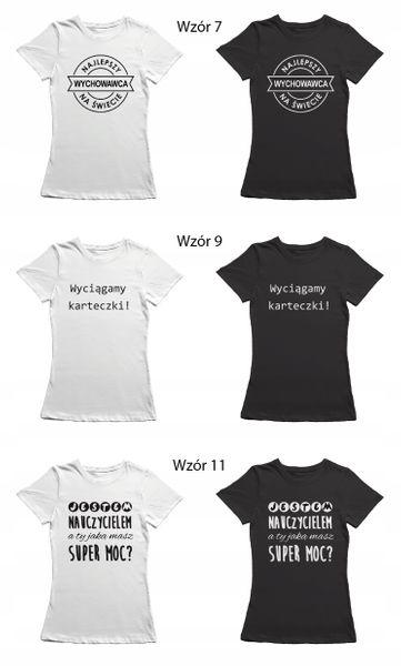 Koszulka dla nauczycielki prezent dzień T-shirt zdjęcie 12