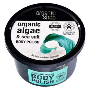 OrganicShop scrub do ciała atlantyckie wodorosty
