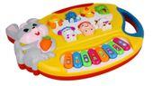 Pianino Organy dla dzieci interaktywne Królik Z349 zdjęcie 3