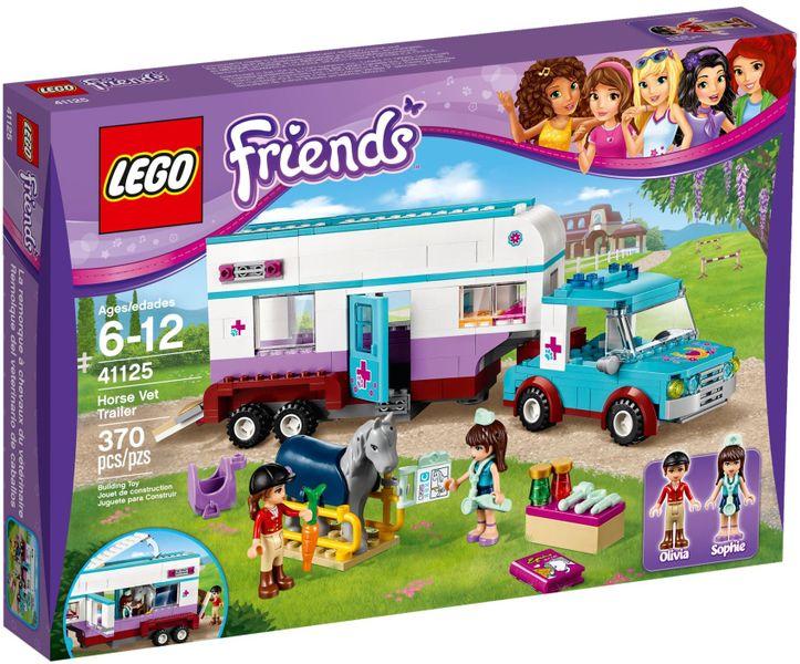 LEGO FRIENDS 41125 Przyczepa Lecznicza Dla Koni zdjęcie 1
