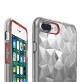 Ringke Air Prism Designerskie Żelowe Etui Pokrowiec 3D Iphone 8 Plus / 7 Plus Szary (Apap0008) zdjęcie 6