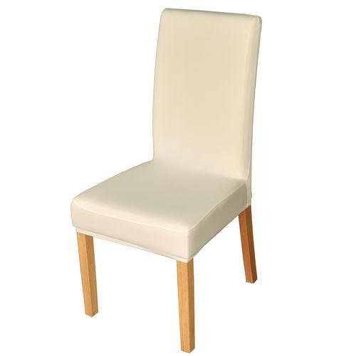 Elastyczny pokrowiec na krzesło spandex, kolor ecru na Arena.pl