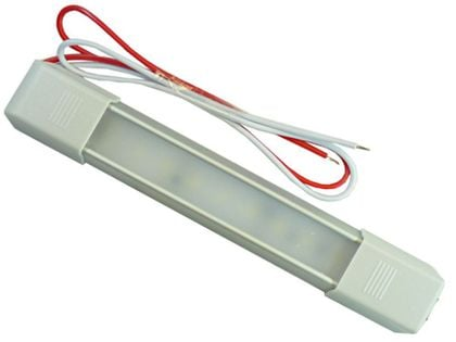 mocna Lampa LED wnętrza 16,5 cm z włącznik 9 SMD 12v 24v do Kabin itp