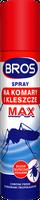 Spray na komary i kleszcze MAX czerwony Bros 90ml