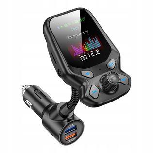 TRANSMITER FM BLUETOOTH 5.0 ŁADOWARKA USB QC3.0 T819