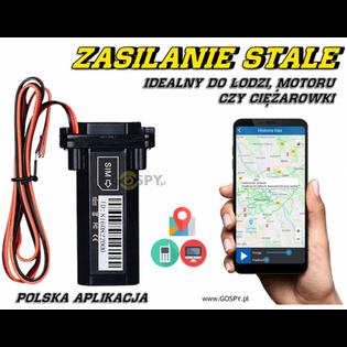 Lokalizator GPS Zeus pod zasilanie do Łodzi, Motoru czy Samochodu