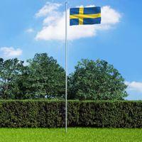 Flaga Szwecji, 90x150 cm