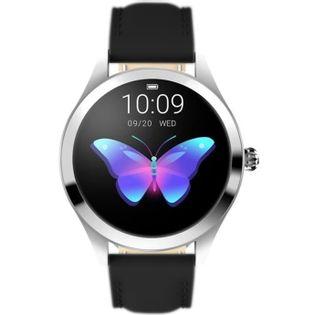 Smartwatch Rubicon Srebrny/Czarny KW10 RNAE36SIBX05AX