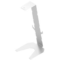 Metalowy Stojak wieszak uchwyt podstawka statyw na słuchawki biały