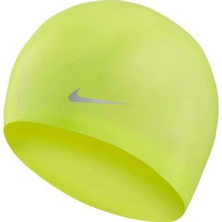 Czepek pływacki Nike Os Solid Junior limonkowy TESS0106-737