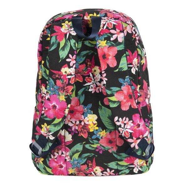 ae3bc1d633937 Lekki plecak szkolny Paso w kwiatki