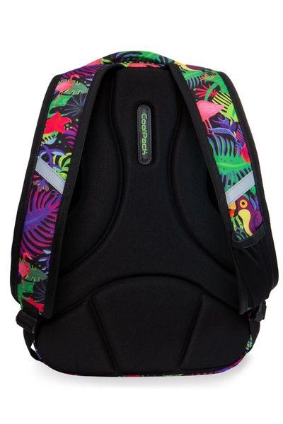 Dwukomorowy plecak szkolny CoolPack Strike L 27L, Jungle B18041 zdjęcie 3