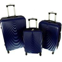 Zestaw 3 walizek PELLUCCI RGL 663 Granatowe