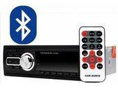 Radio samochodowe Bluetooth mp3 sd usb aux + pilot
