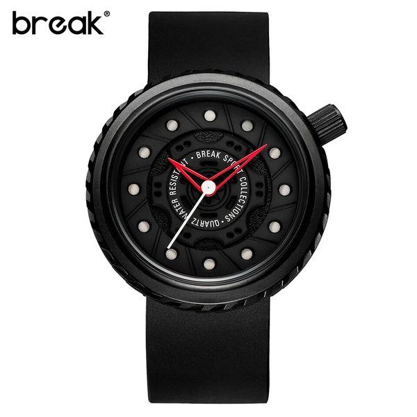 Nowoczesny, męski zegarek Break w eleganckim pudełku zdjęcie 3