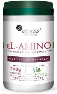 eL-AMINO kompleks aminokwasowy pomarańcza, proszek 200g Aliness