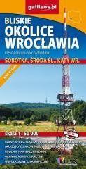 Mapa - Bliskie okolice Wrocławia cz. połud-zachod. praca zbiorowa