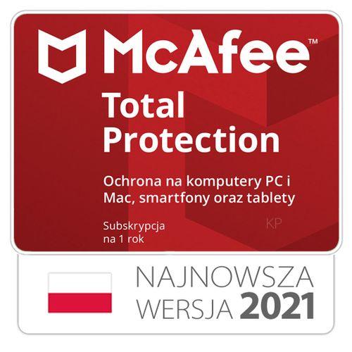 McAfee Total Protection 3 stanowiska / 1rok na Arena.pl