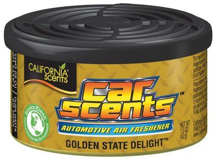 OBSERWUJ Zapach puszka GOLDEN STATE DELIGHT California Car Scents