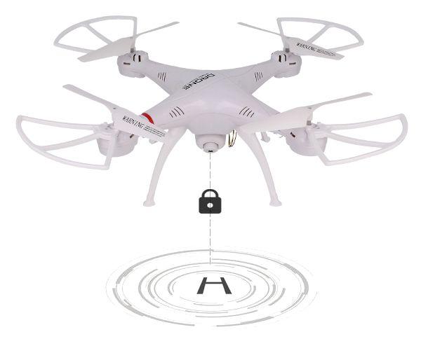 Dron TD08 II Generacji z Kamerą WiFi Podgląd na żywo 2x AKU Biały Z312 zdjęcie 8