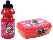 Zestaw bidon i śniadaniówka w kartoniku Myszka Minnie, licencja Disney (ZSBMM11)
