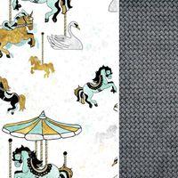 Wkładka Do Wózka Dark Grey Funfair- Velvet Lanila wyprawka dla dziecka