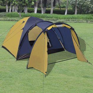 Namiot 4-osobowy żółty VidaXL